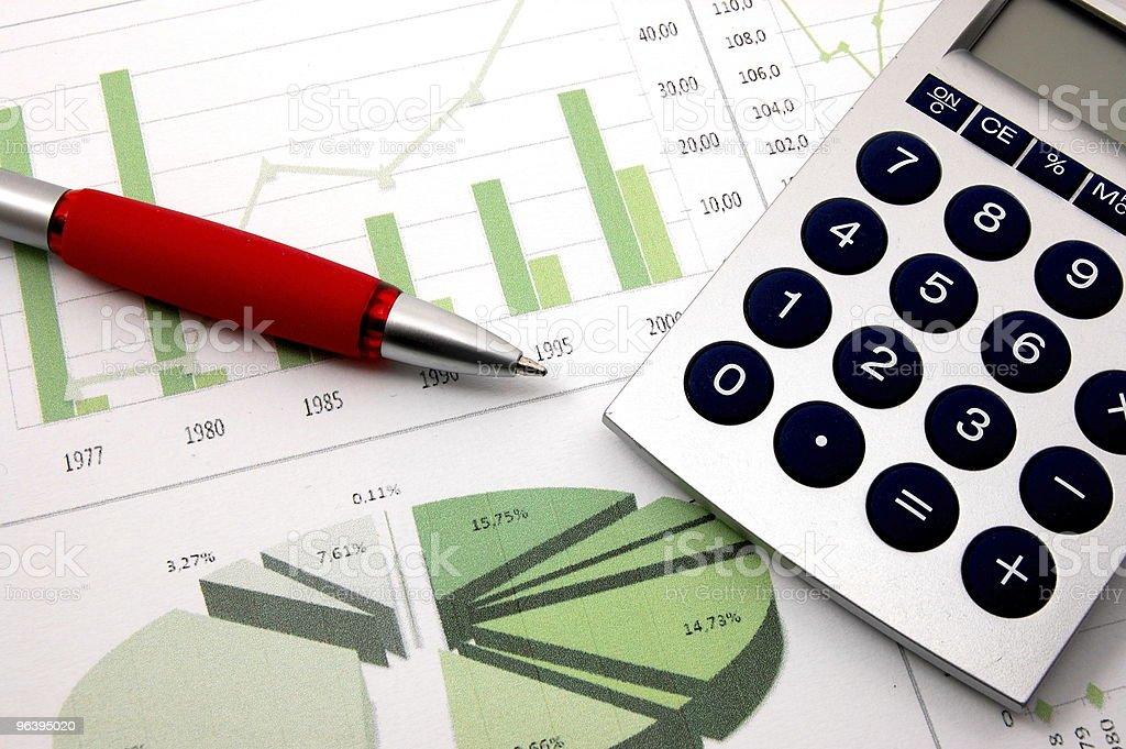ビジネスの成功のチャートを表示 - オフィスのロイヤリティフリーストックフォト