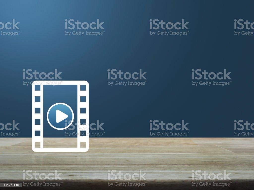 Business cinema online concept stock photo