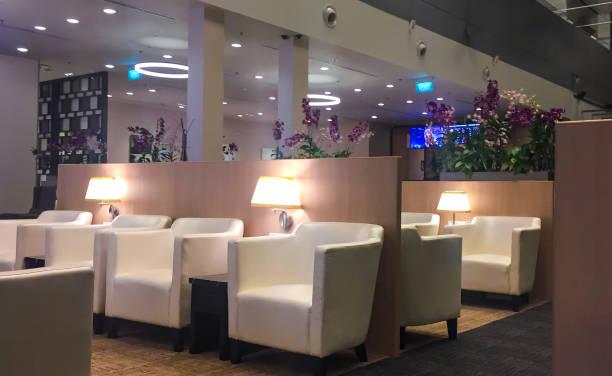 Business Class Lounge stock photo
