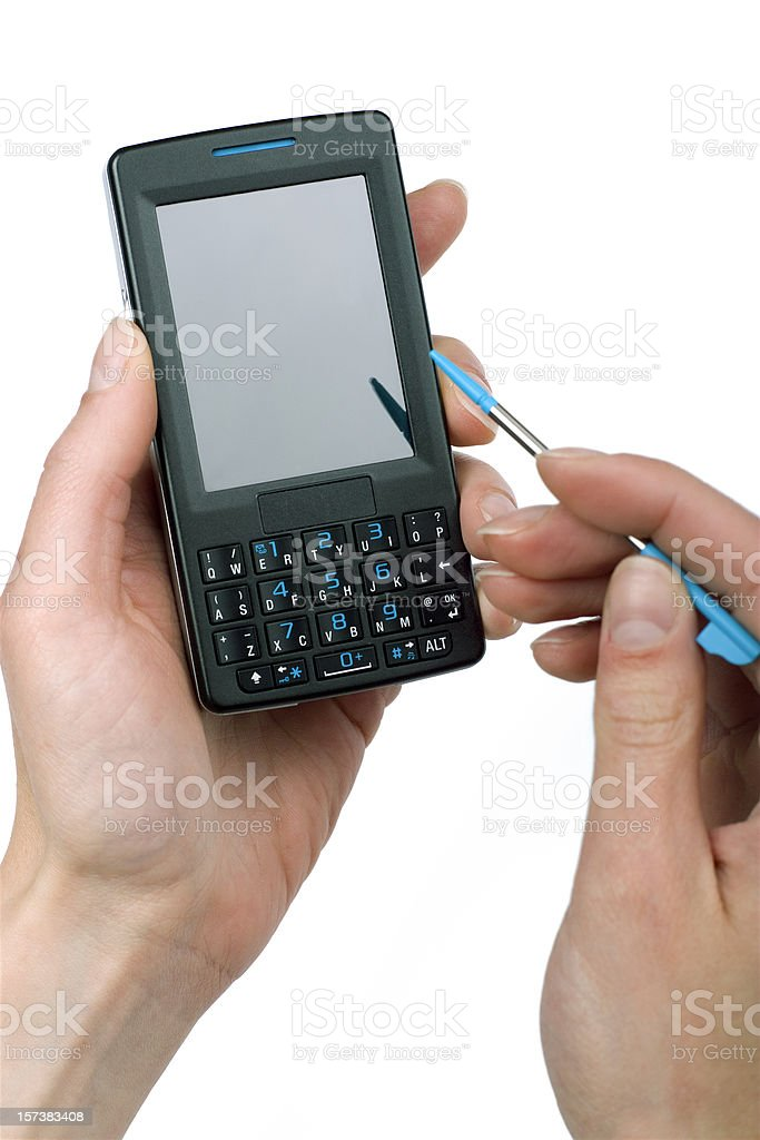 Business class smart phone royalty-free stock photo