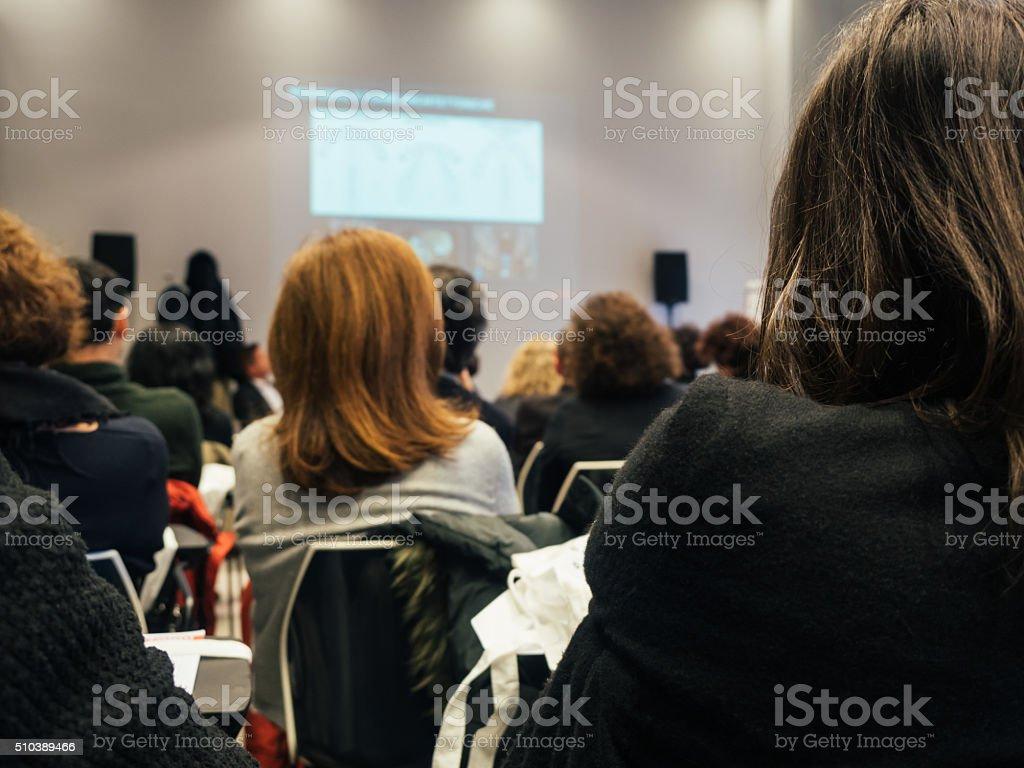 Business Classroom stock photo