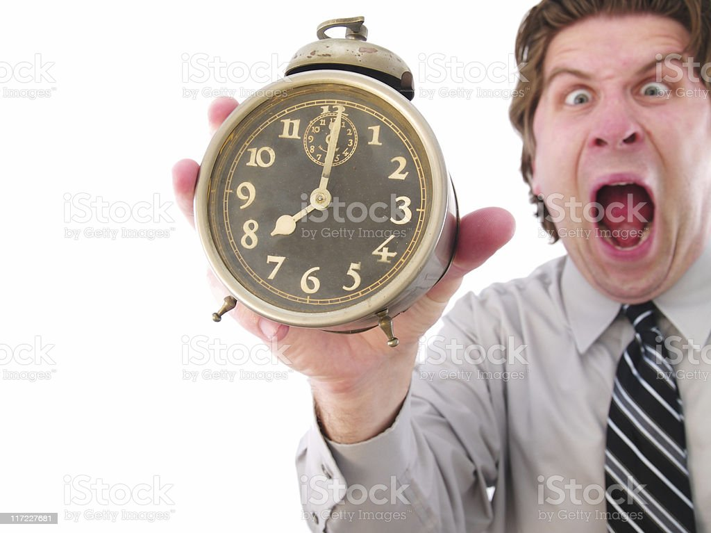 Business Clock royalty-free stock photo