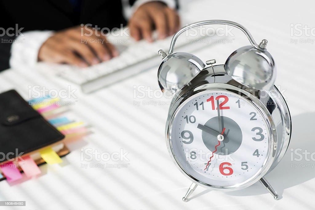 Business clock stock photo