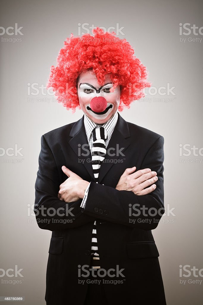 Business Clown royalty-free stock photo