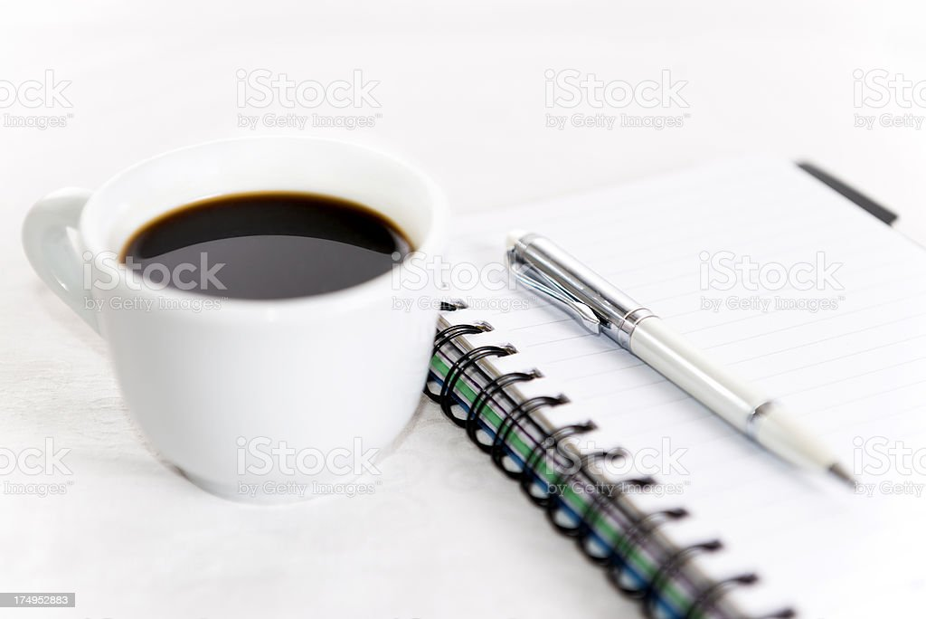 Business Coffee Break royalty-free stock photo
