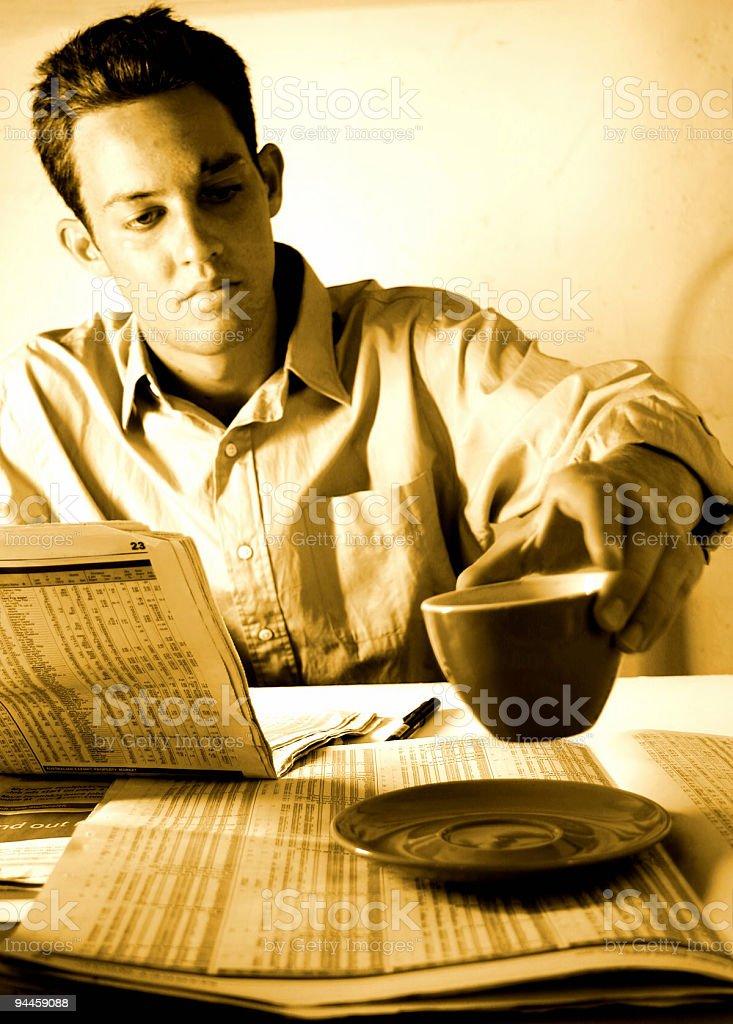 Business - Coffee Break royalty-free stock photo