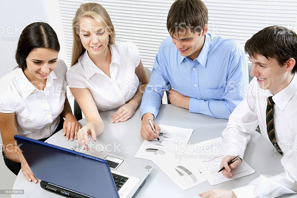 Business colleagues royalty-free stock photo