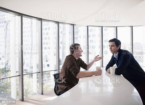 Business colleagues talking together in break room picture id637918108?b=1&k=6&m=637918108&s=612x612&h=7smveuddtjh1 bqqhbydqmvrqwttcvnlqnkzqoq9j3w=
