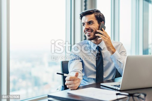 istock Business communication and work 645752506