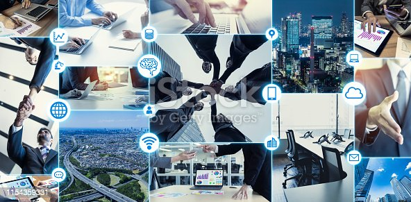 685409482istockphoto Business communication concept. Business and technology. 1154359331