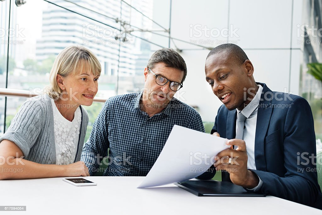 Business Communication Connection People Concept - foto de stock
