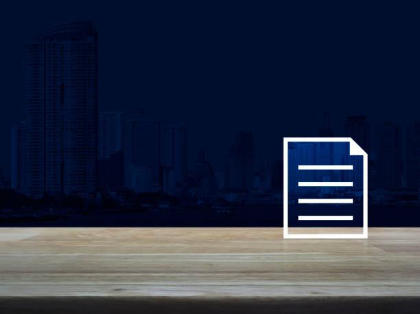 Business communication online concept stock photo