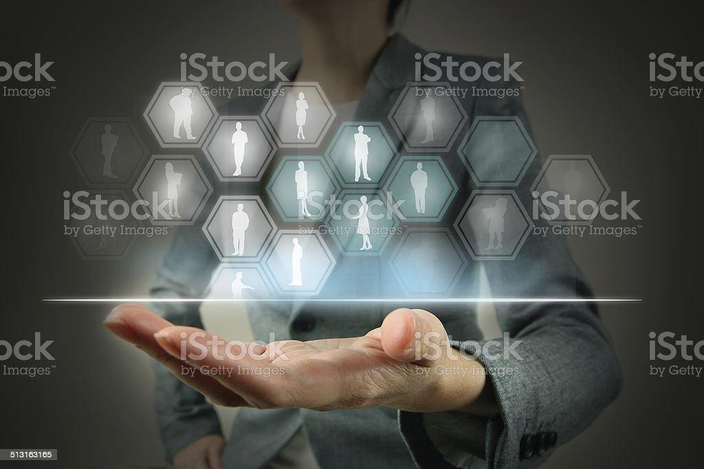 Comunicazione aziendali foto stock royalty-free