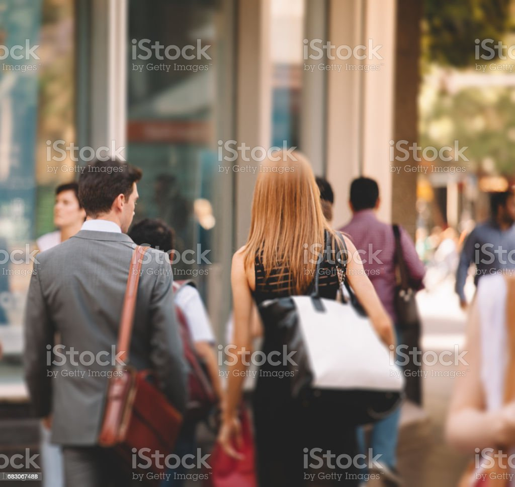 business communters stock photo