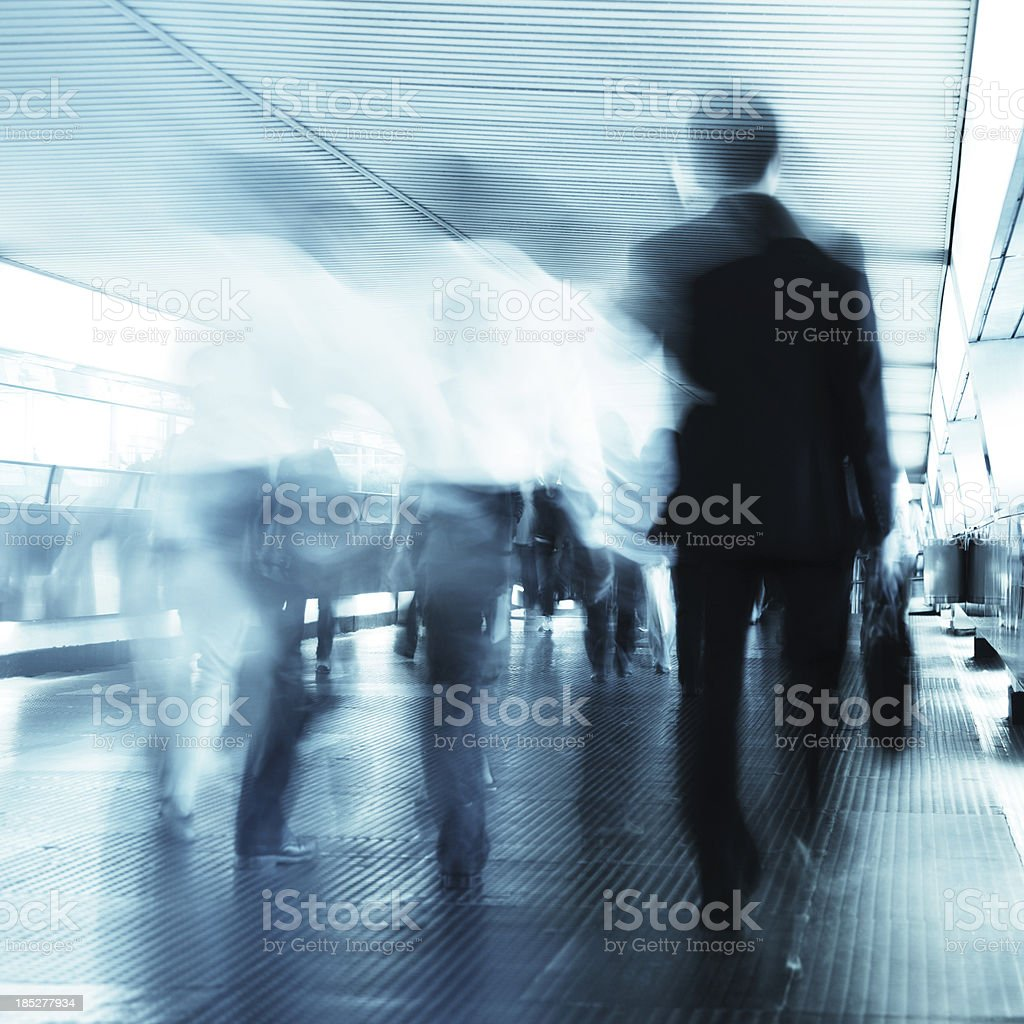 Business Commuter royalty-free stock photo