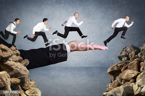 istock Business Competition Concept 1031795924