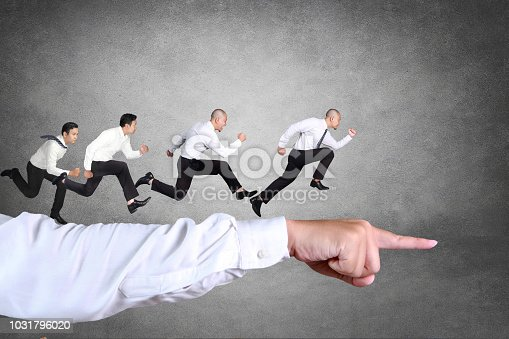 istock Business Competition Concept 1031796020
