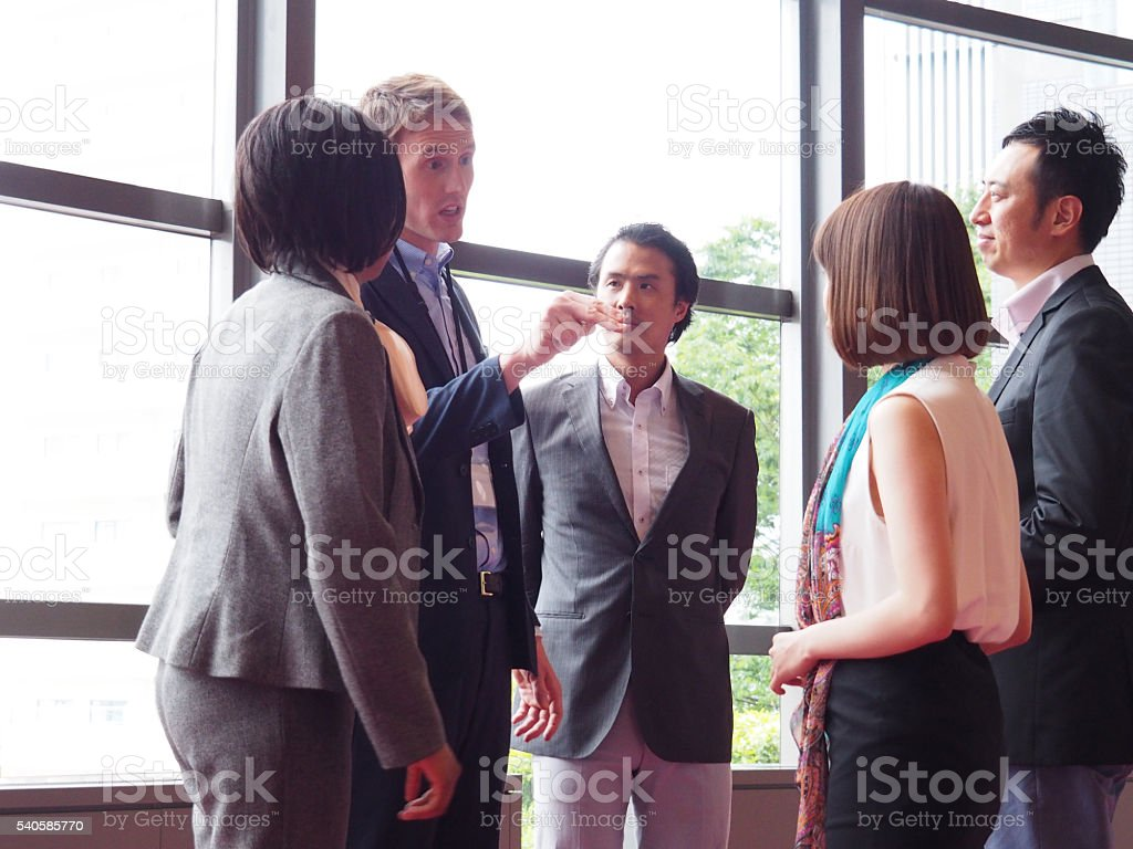 Business, Complaint, Objection stock photo
