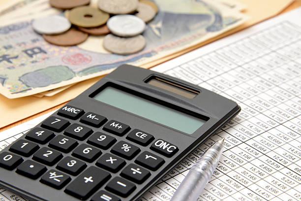 Concepto de negocios, contabilidad - foto de stock