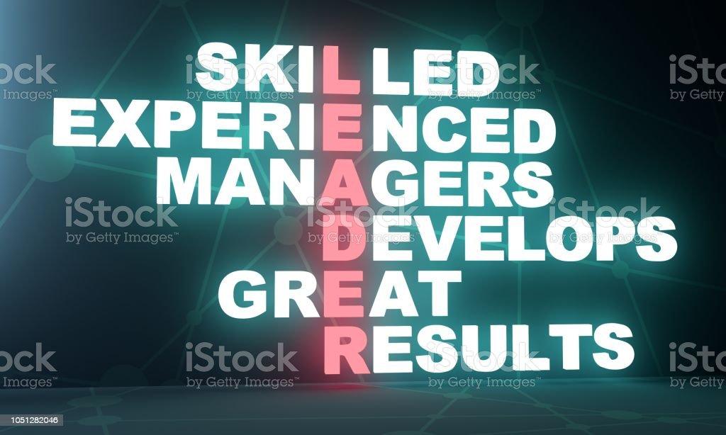 Business concept acronym stock photo
