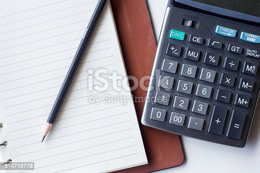 istock Business concept, Business graph analysis report. Accounting, Stock, Tone color 514715778
