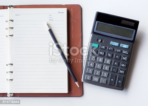 istock Business concept, Business graph analysis report. Accounting, Stock, Tone color 514716344