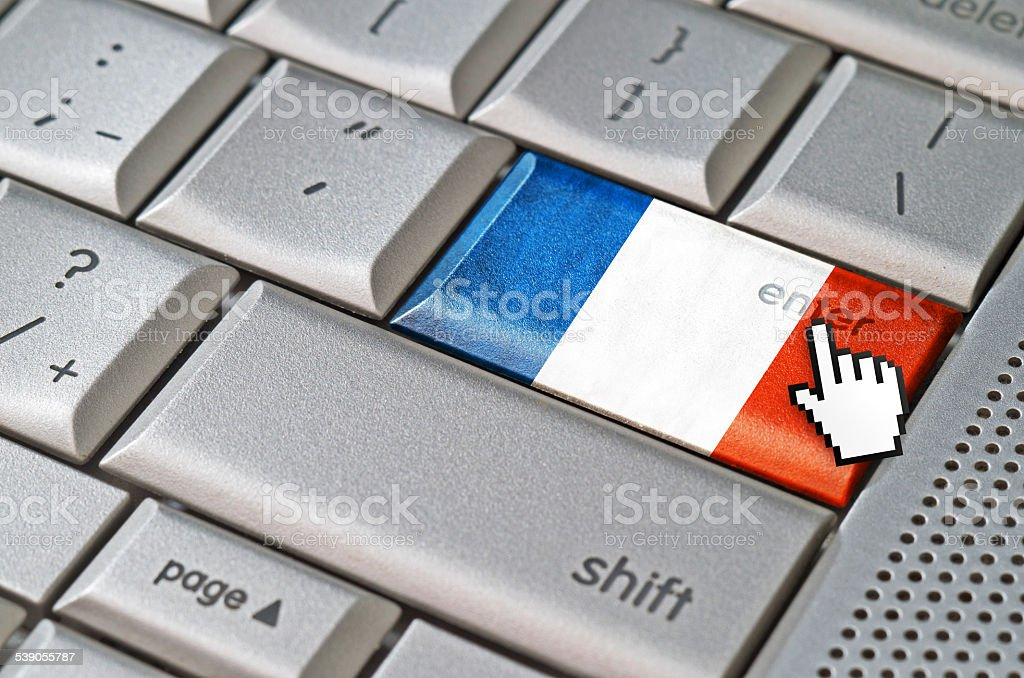 Business concept enter France royalty-free stock photo