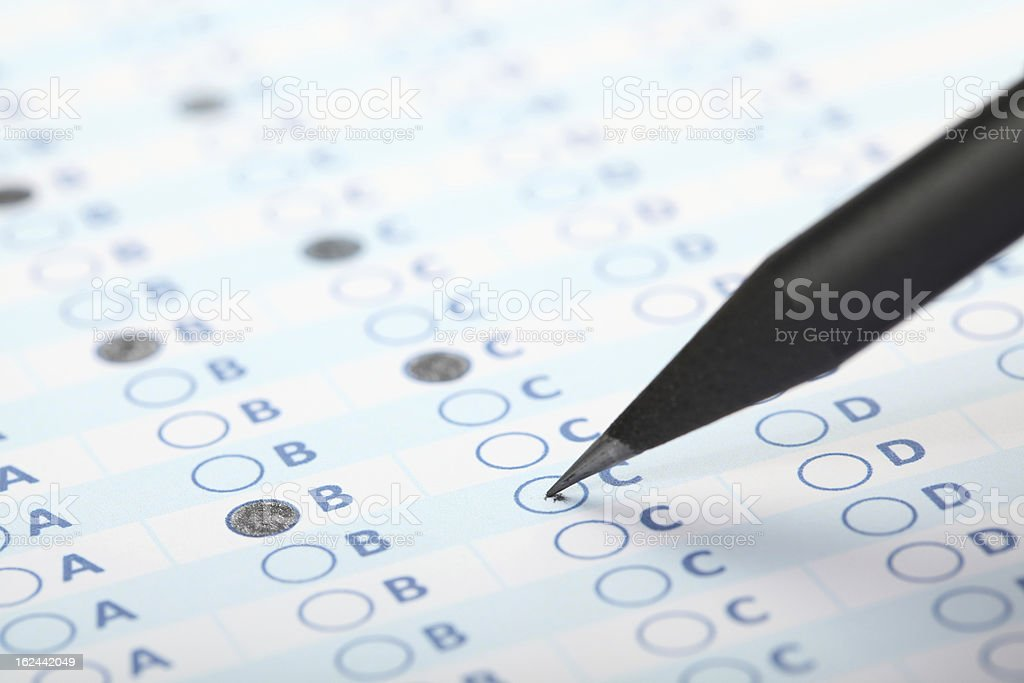 Business Concept - Exam stock photo