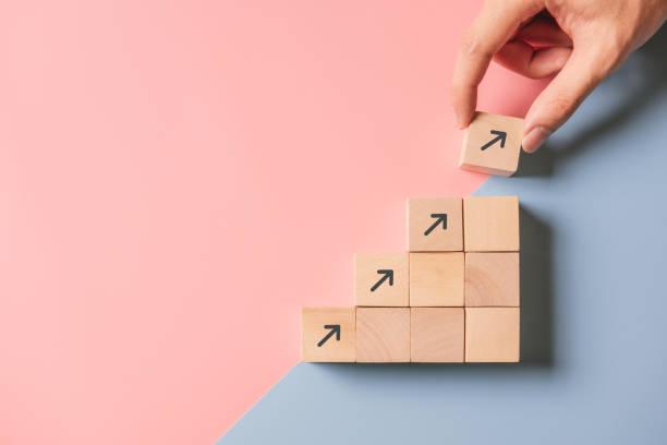 Wachstumsprozess des Geschäftskonzepts. – Foto