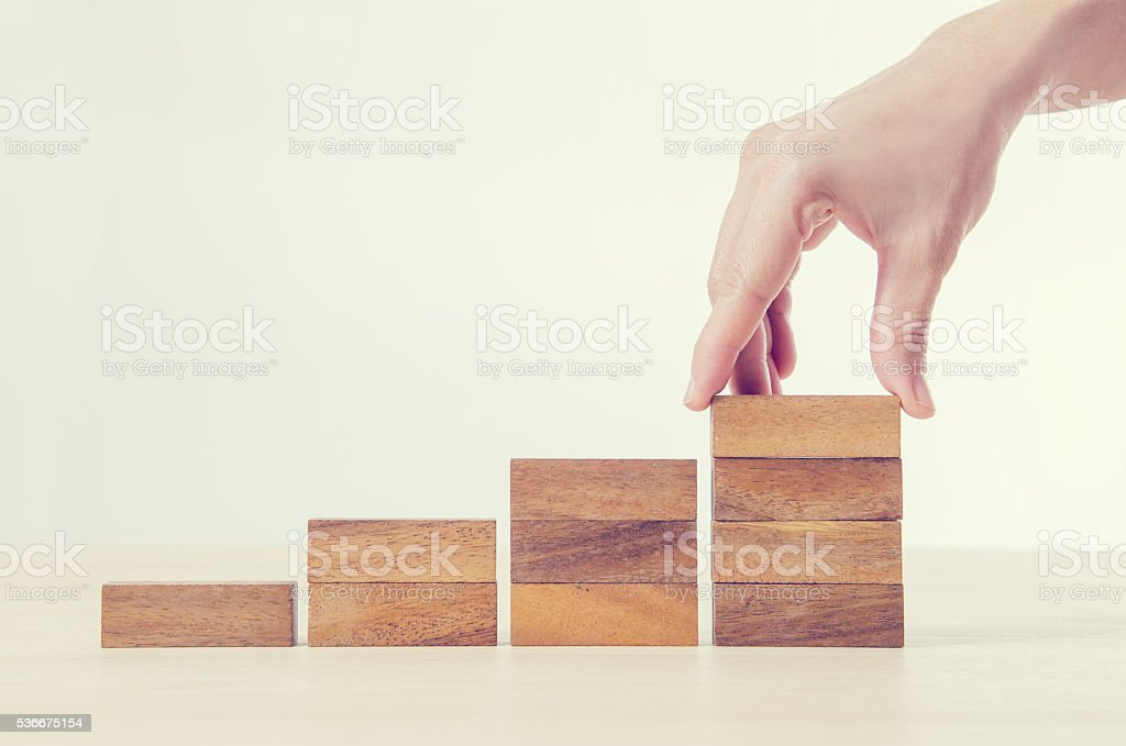 Business concept growth success process. stock photo