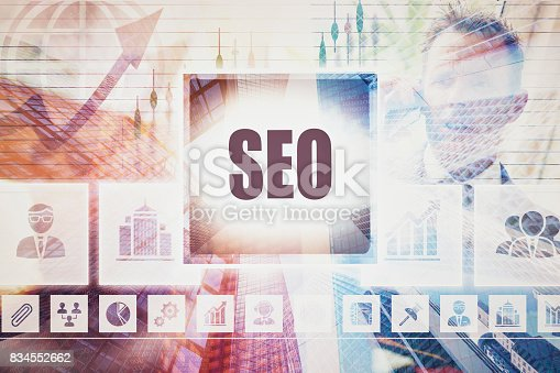istock A SEO business concept montage. 834552662