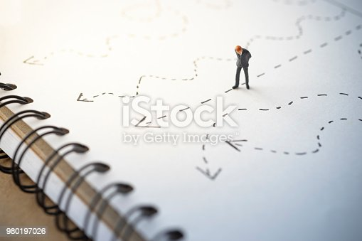istock Business concept of direction 980197026