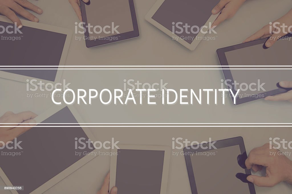 CORPORATE IDENTITY CONCEPT Business Concept. – zdjęcie