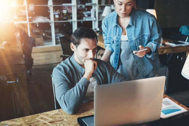 Business-Konzept. Start Team zusammenarbeiten – Foto