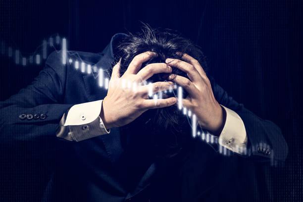 geschäftskonzept, aktienhandel - börsencrash stock-fotos und bilder