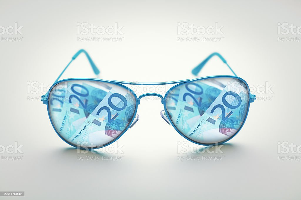 business concept with glasses stock photo
