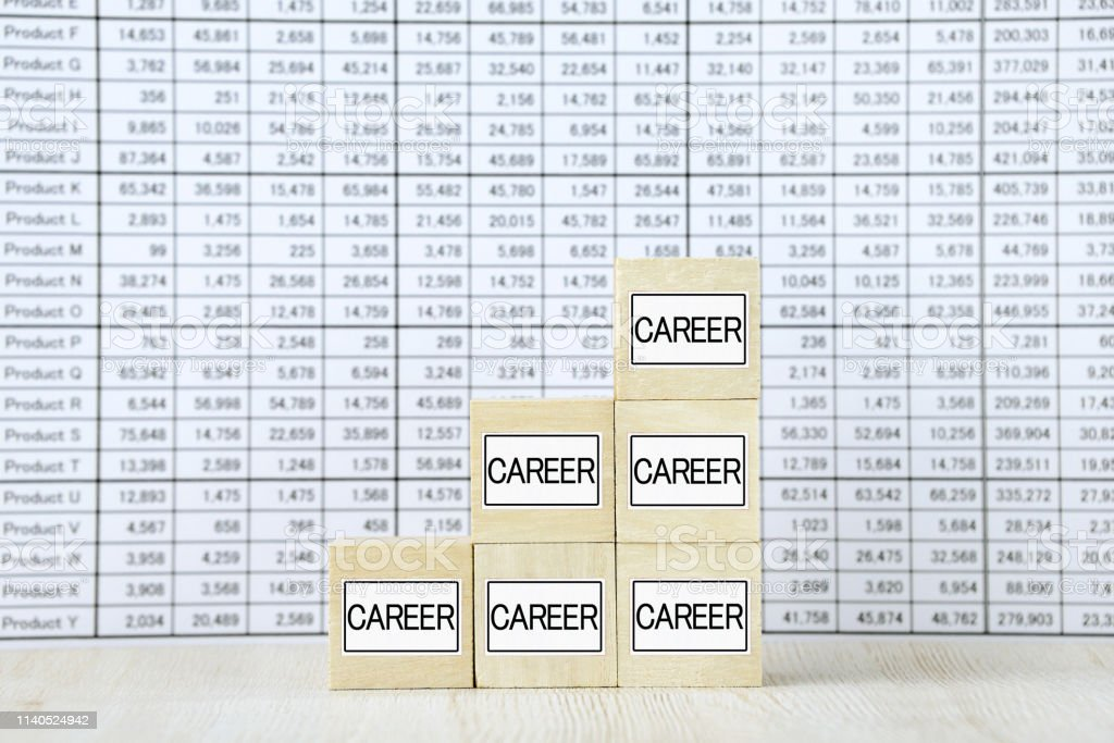 Business concepts, career up