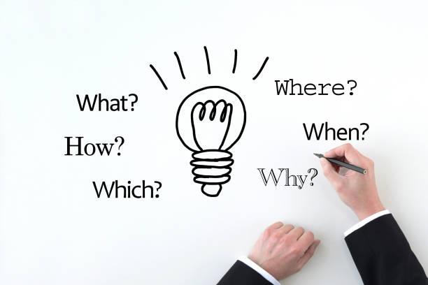 Business concepts, good idea stock photo