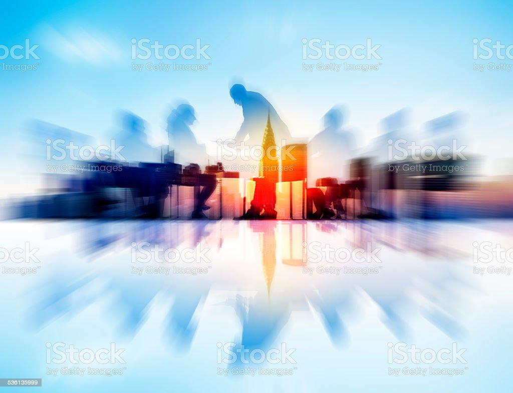 Business Concepts Ideas Coopration Decision Communication Concep stock photo
