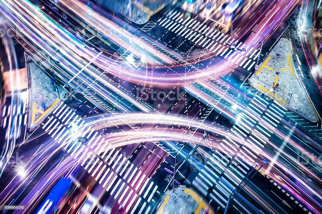 Business Concepts: Intersection - Lizenzfrei Abstrakt Stock-Foto