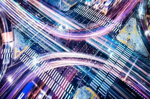 Business Concepts Intersection Stockfoto und mehr Bilder von Abstrakt