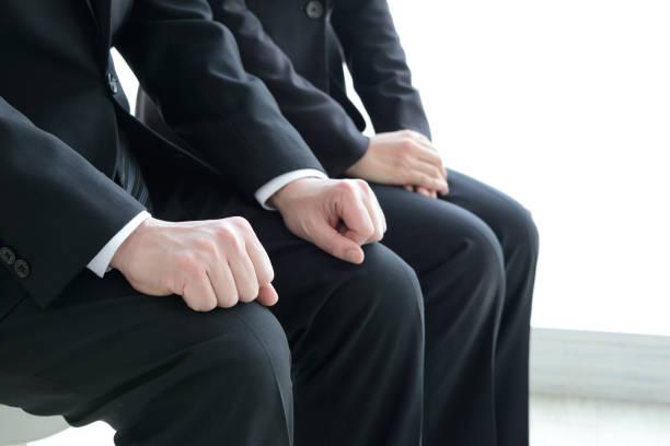 affärskoncept, jobb intervjuer - job interview bildbanksfoton och bilder