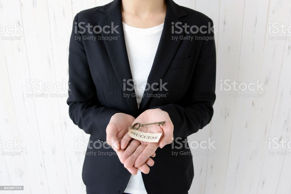 Business concepts, key to success stock photo