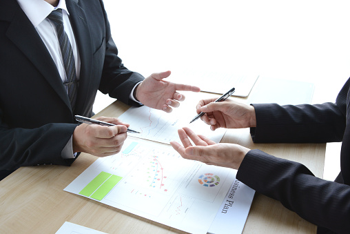 istock Business concepts, meeting 829050154