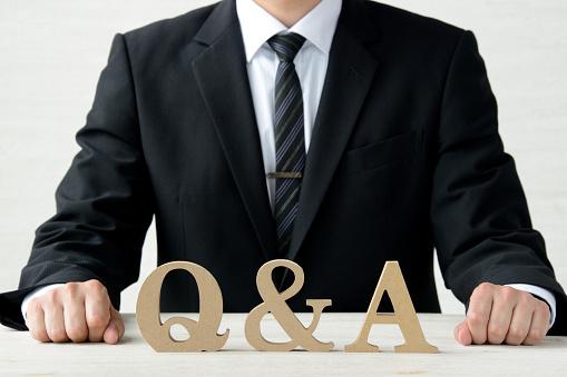 Business Concepten Vraag En Antwoord Stockfoto en meer beelden van Advies