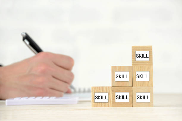 Business concepts, study and skill up stock photo