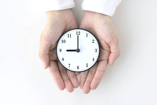 Business concepts, time management stock photo