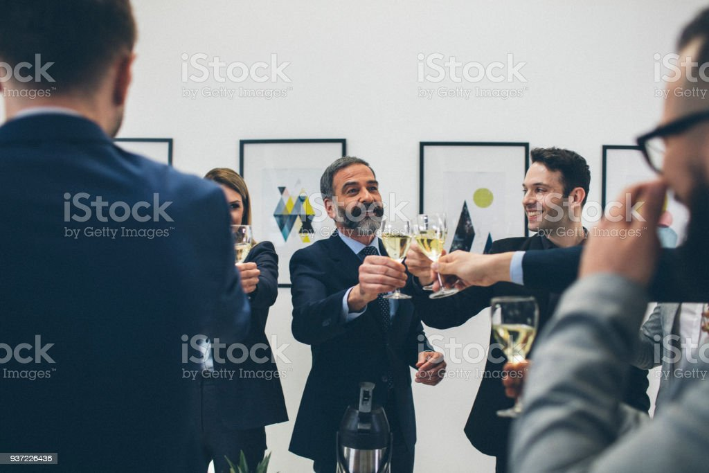 Business Conference And Event stock photo
