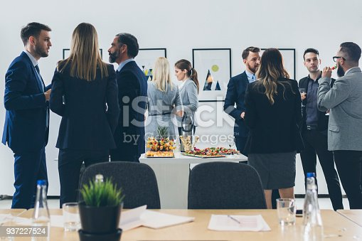 istock Business Conference And Event 937227524