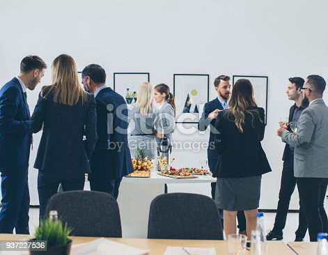 istock Business Conference And Event 937227536
